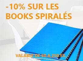 Book spiralés